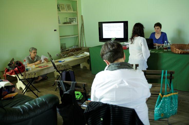 Durante il corso di Aromaterapia emozionale olistica a Pancalieri (Torino)