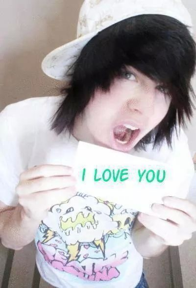 from Lamar really cute teen emo boy