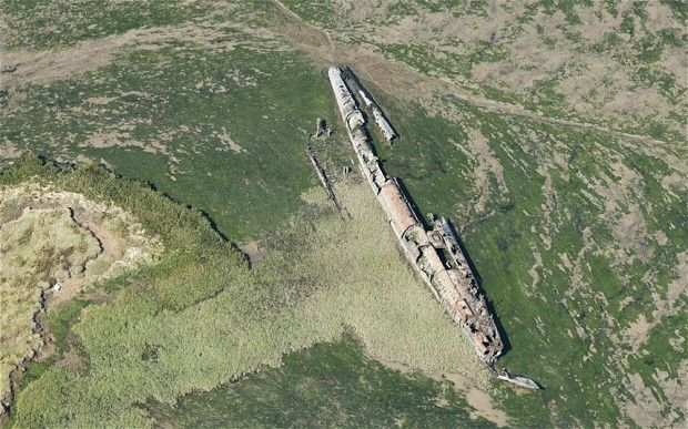 The shipwreck of a German First World War submarine washed up on the Kent coast more than 90 years ago ...