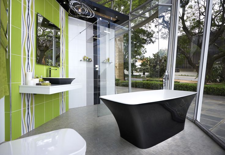 Going Green #bathroombizarre #bathroom #inspiration #style #modern #classic