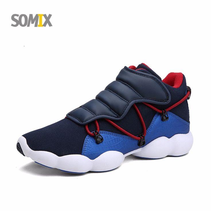 Somix 2017 nieuwe ademende mannen sport licht loopschoenen mannen outdoor sneakers comfortabele wandelschoenen euro 39-44