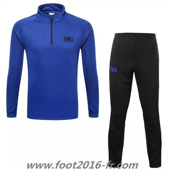 site de Nouveau Survetement de foot T90 Blue 2015 2016 shop