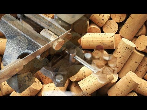 Creative ideas to recycle corks. - YouTube
