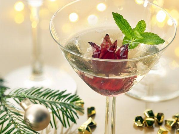 Hibiscus Mocktail