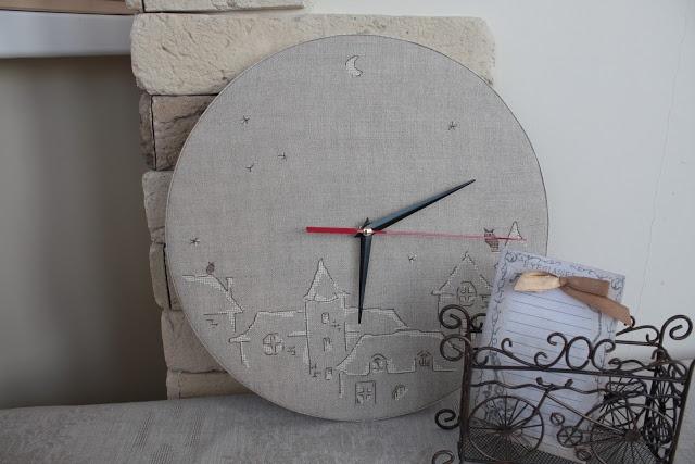 BELLE CASA: Come fare un orologio rotondo (workshop)