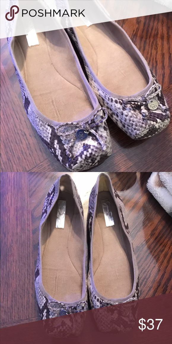 Jessica Simpson Flats Adorable Jessica Simpson Flats that go with ANYTHING! Like New! Jessica Simpson Shoes Flats & Loafers