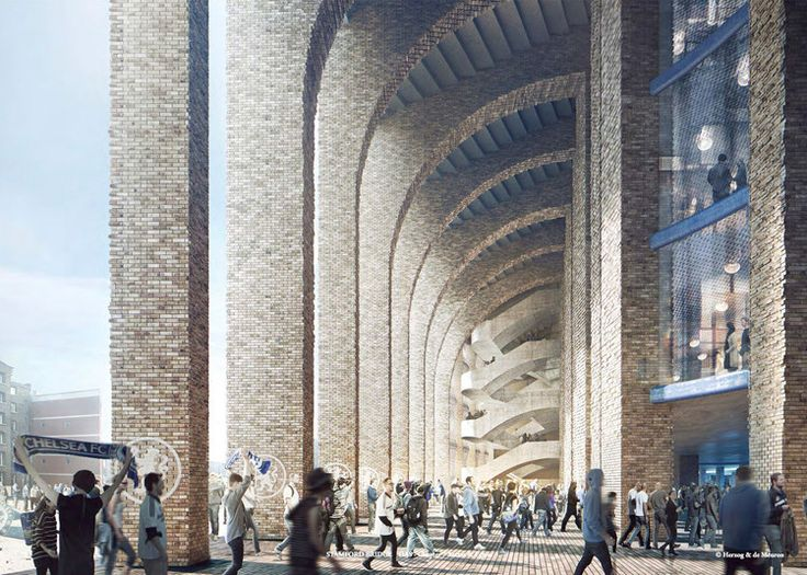 Herzog & de Meuron's Chelsea FC Stadium Receives Council Approval | ArchDaily