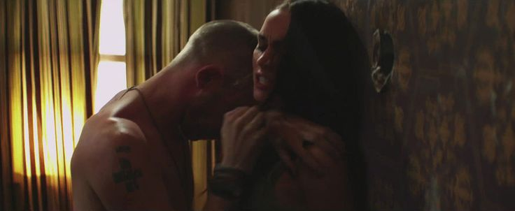 "Megan Fox portrayed in a domestic violence relationship in Eminem and Rihanna's ""Love The Way You Lie"" music video"