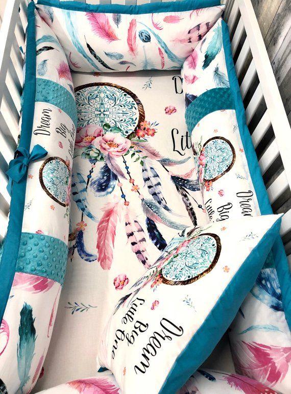Baby Mädchen Kinderzimmer Bettwäsche Set, Baby, Meerjungfrauen, Meer, Blumen, Baby Bettwäsche, Kinderbett Bettwäsche, Sonderanfertigung   – RV Life