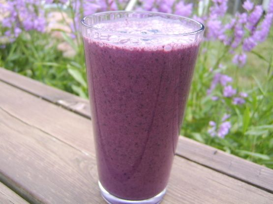 Get your metabolism going with this Blueberry and Green Tea Smoothie