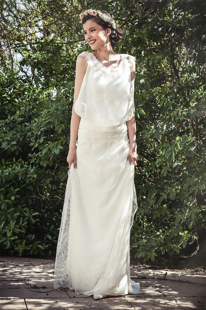 Elsa Gary - Robes de mariée | Modèle: Maëlys | Crédits: Elsa Gary | Donne-moi ta main - Blog mariage