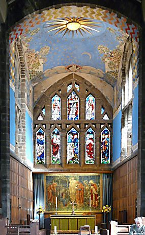 10 Images About Arts And Crafts Gothic Church Interiors