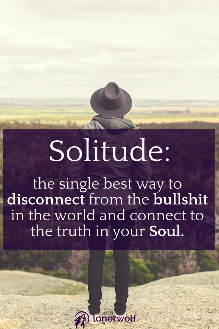 Is solitude calling you?
