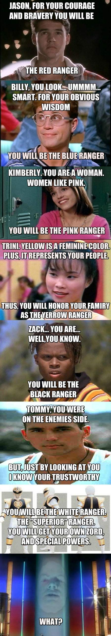 How Zordon chose the Power Rangers… < So WRONG BUT good, I'm ignoring the grammatical error and repinning.