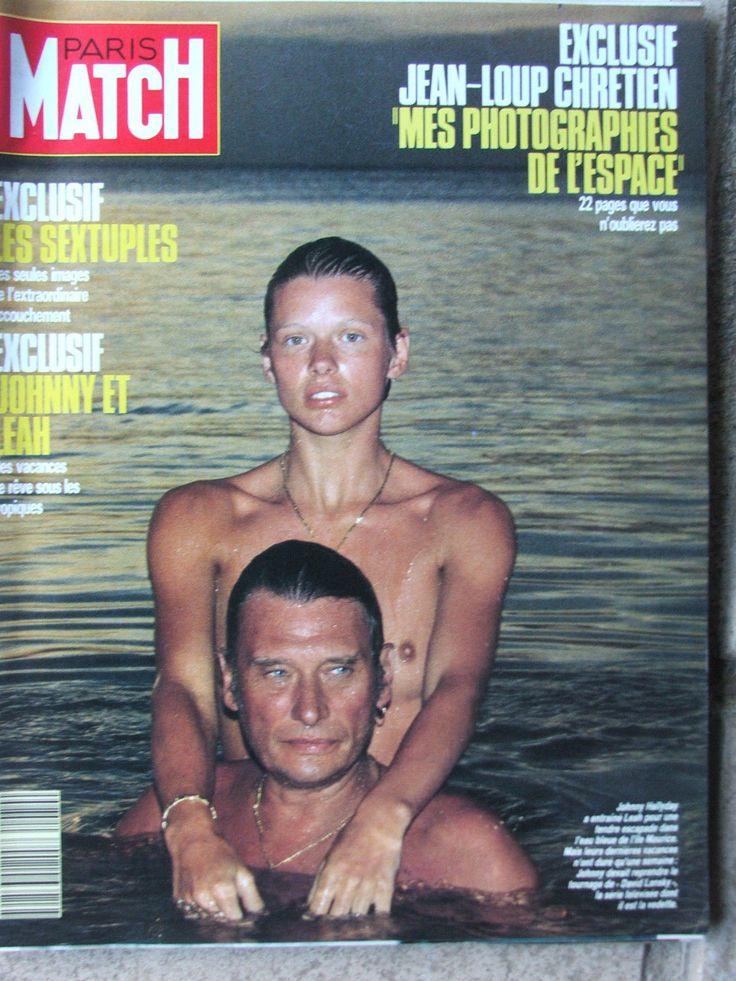 PARIS MATCH N°2070 (26/1/1989) Johnny et Leah - Jean Loup Chrétien - Sextuplés
