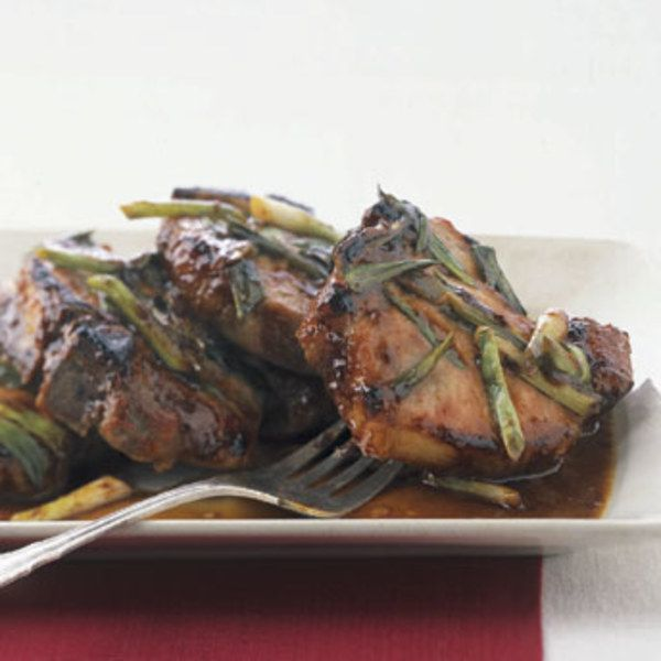 Hoisin and Honey Glazed Pork Chops   Recipe   Honey Glazed Pork Chops ...