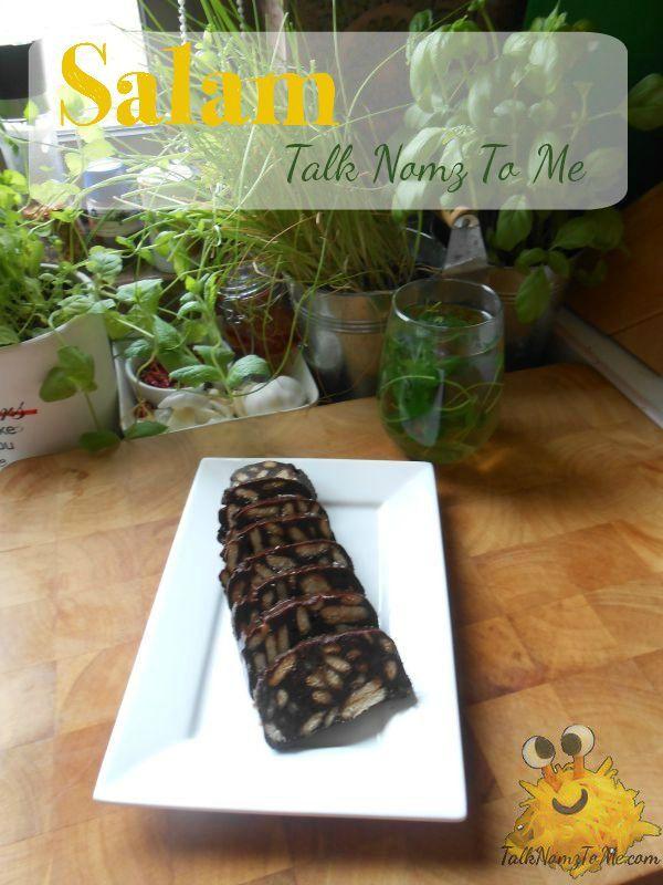 Salam ofwel chocolade worst - Talk Nomz To Me | Talk Nomz To Me