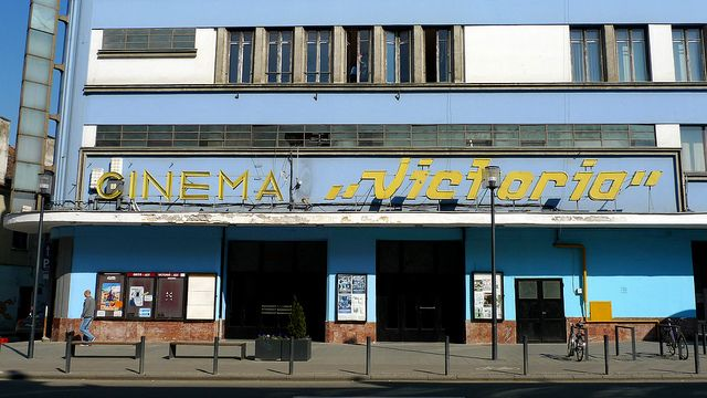"Cinema ""Victoria"" - Great cinema, you can buy and drink beer while watching the movie!"