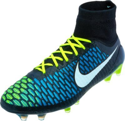 Fast Shipping on the Black, Blue Lagoon \u0026 Volt Nike Magista Obra Firm  Ground Soccer Cleats. Easy Returns on all Nike Soccer Shoes. Shop our large  selection ...