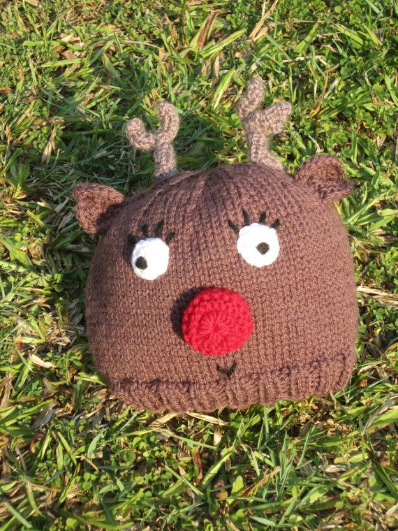 Rudolph the red nose reindeer children's Christmas by HotScones, $55.00