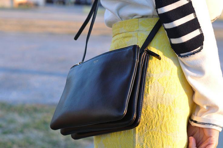 camo meets couture: celine trio