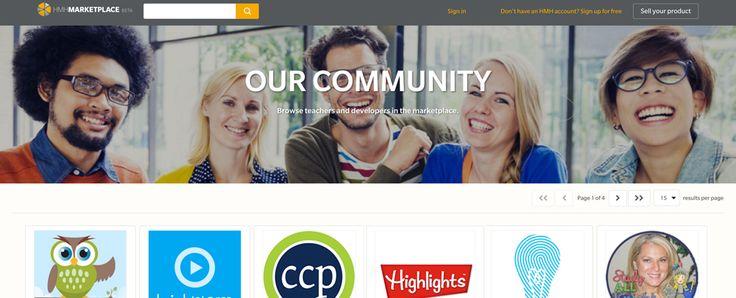 Houghton Mifflin Harcourt Launches New Marketplace for Companies and Teachers (EdSurge News)