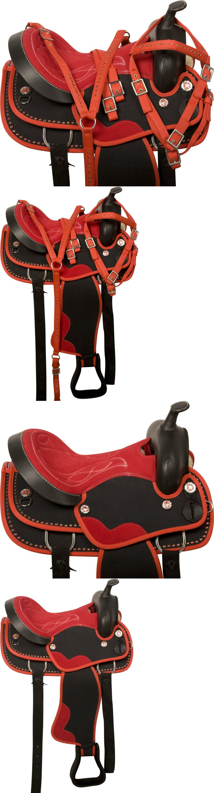 Saddles 47291: Gaited Western Pleasure Trail Light Weight Synthetic Saddle Tack 14 15 16 17 -> BUY IT NOW ONLY: $151.99 on eBay!