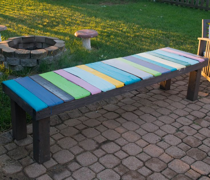 DIY Wood Pallet Bench, Low Cost And Easy To Make! Bold