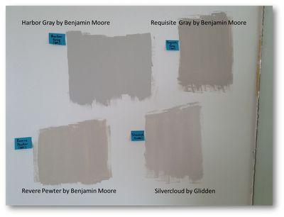 Harbor Gray By Benjamin Moore Requisite Gray By Benjamin