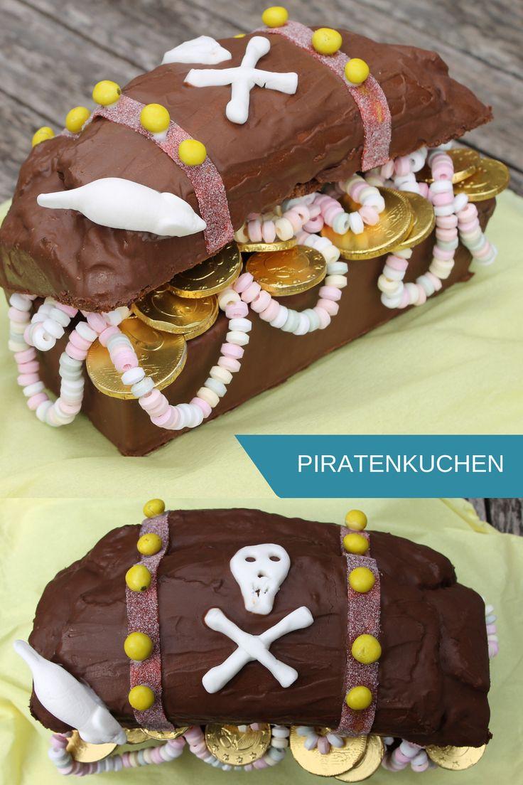 Piratenkuchen – Schatztruhe