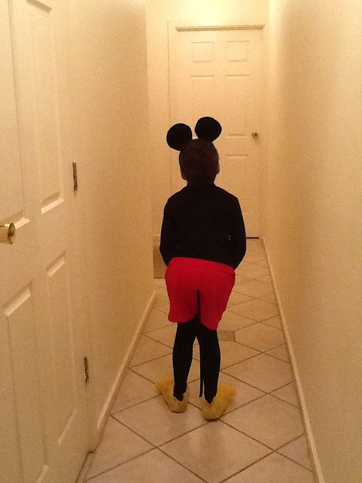 You can't be a mouse with out a tail...