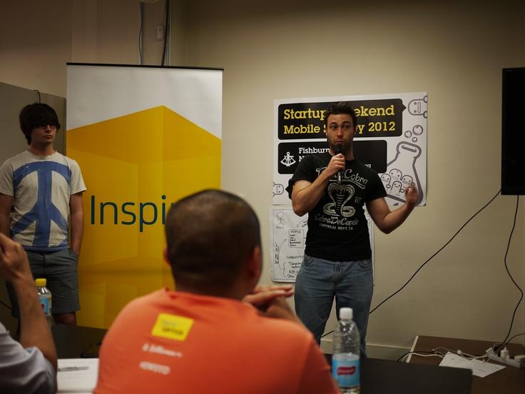 Startup Weekend Sydney 2012