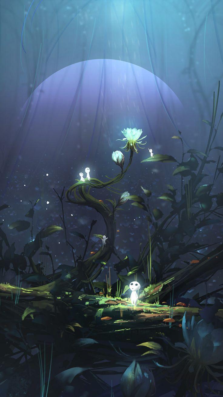 以后就没啥机会画萌萌哒的图了 by Wu Xin on ArtStation.