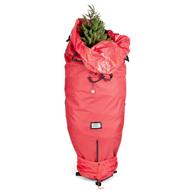 this #UPriht #artificial #ChristmasTree #Storage is KEY in my #DownrightSouternChristmas | it's the @TreeKeeper 72-in x 30-in 60.5-cu ft Polyester Christmas Tree Storage Bag @Lowes #Lowes