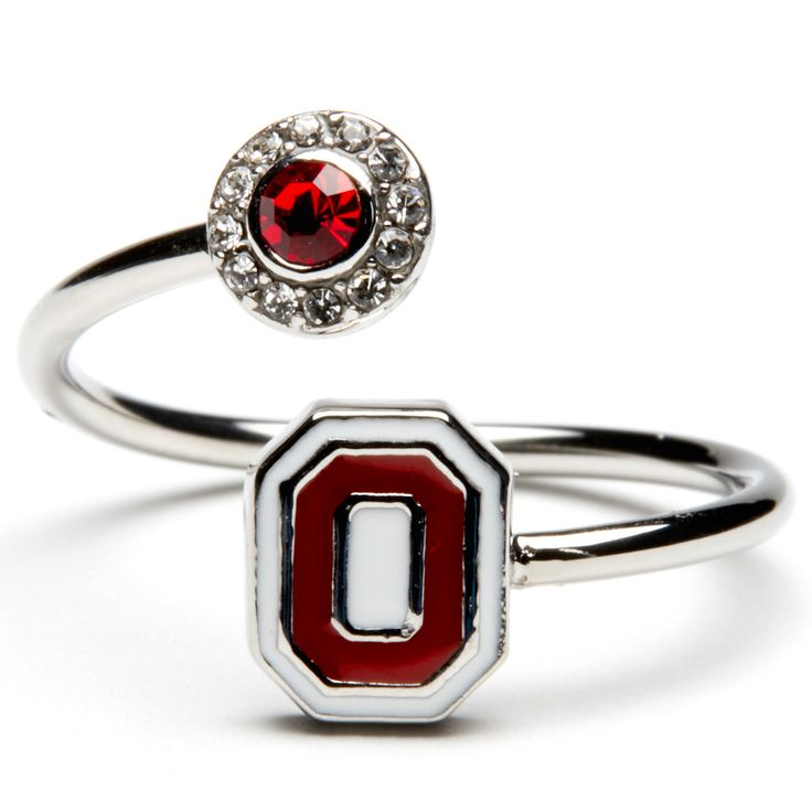 NEW! Ohio State Ring just in time for the upcoming season! Shop the new officially licensed Ohio State jewelry collection. www.StoneArmory.com