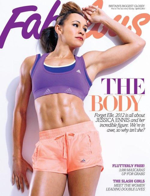 Jessica Ennis - Fabulous Cover