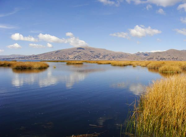 Lake Titicaca is the Highest Lake in the World Where Commercial Shipping is Possible