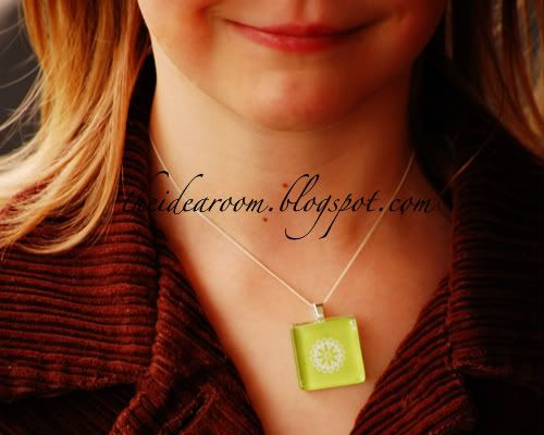 Glass tile pendant how-to