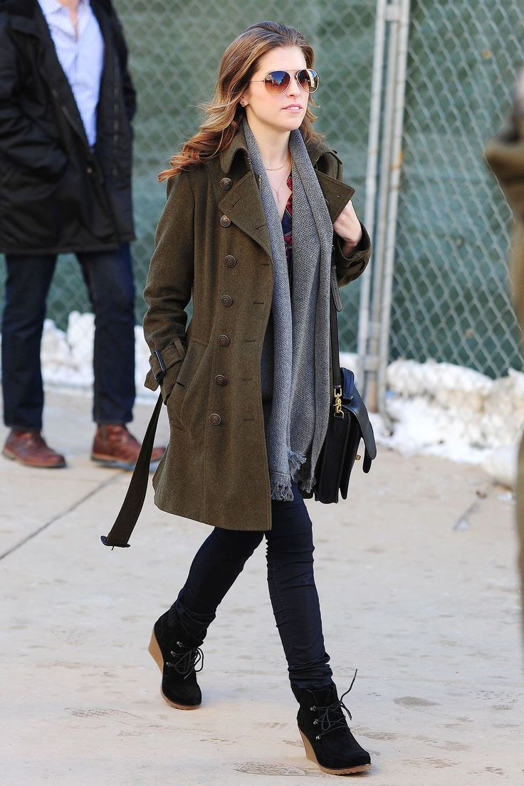 Anna Kendrick at the Sundance Film Festival #streetstyle