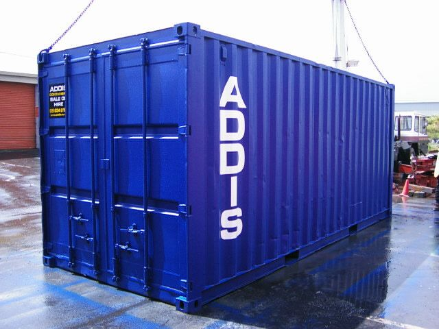 20 Foot Standard Shipping Containers for sale | Addis Containers | Auckland, New Zealand