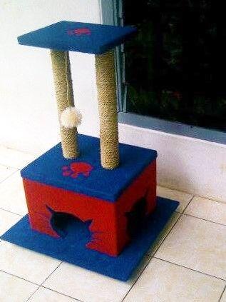 CAT CONDO Mainan kucing cakaran/garukan kucing ( cat scratching/cat tree/cat toy )  Kode JC 06 ukuran tinggi: 80cm lebar:45x45cm Harga Rp.1.150.000  Kami menerima pemesanan CUSTOM ( mengikuti design keinginan anda atau dari design kami )  Hubungi kami :  JL: Aselih Rt:10 Rw:01 Cipedak-Ciganjur Jagakarsa Jakarta-Selatan 12630 No:72 Telp: 087882372643 (Whatsapp)- PIN BB 24E4F059-Line: shine_art3  Diproduksi oleh:  Shine art Production