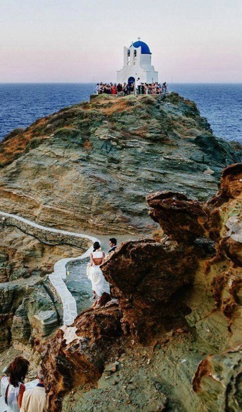 Greek wedding in Sifnos Island, Greece