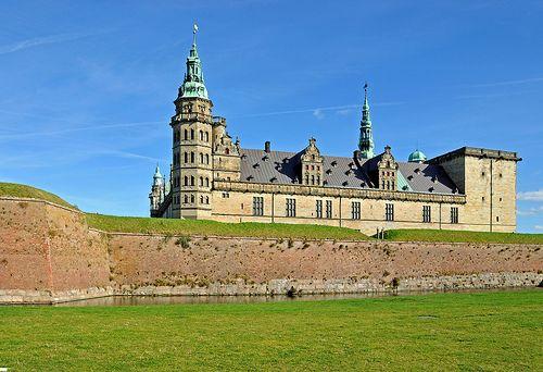 Kronberg Castle in Helsingor,Denmark is used as the model for Elsinore in Hamlet.