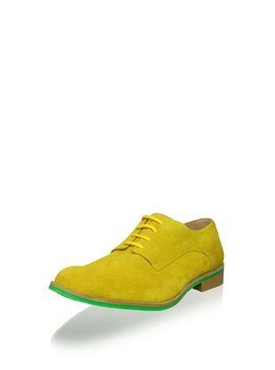 JD Fisk Men's Callum Oxford (Yellow Suede)
