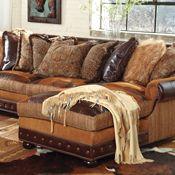 Prairie Patchwork Sectional Sofa