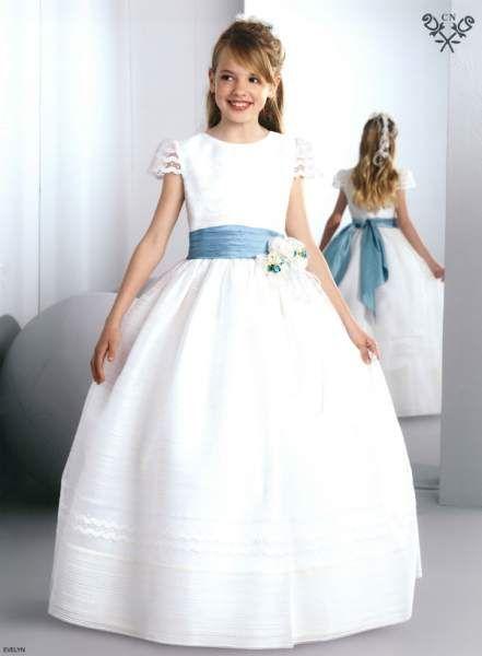 vestidos de primera comunion de 7 anos