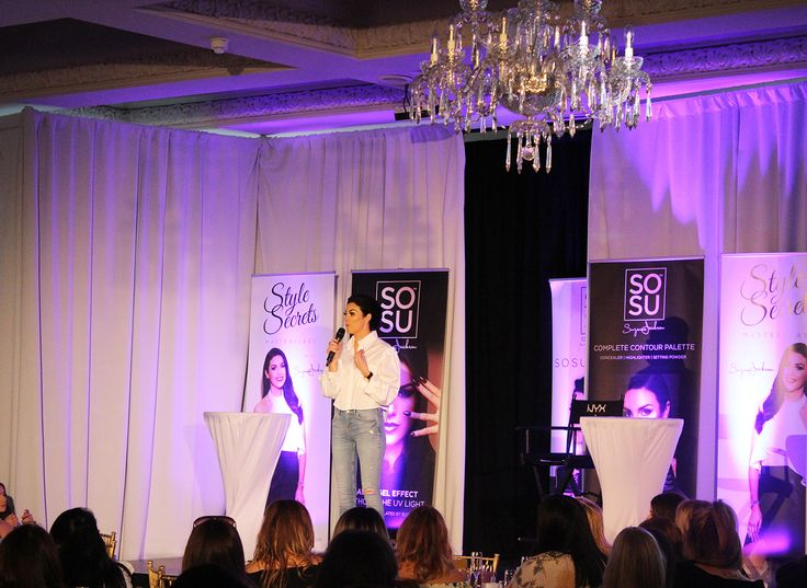 Suzanne Jackson hosting her So Sue Me Workshop in The Great Hall at Galgorm Resort & Spa
