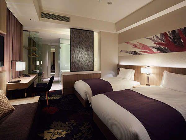 ミレニアム 三井ガーデンホテル 東京 デラックスツイン(37.7㎡/ベッド幅120cm)