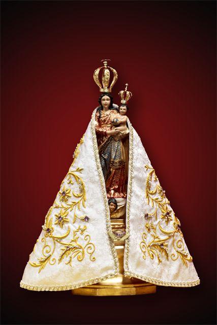 Réplica da imagem de Nossa Senhora de Nazaré, que foi oferecida pelo povo paraense ao Papa Francisco durante a Jornada Mundial da Juventude
