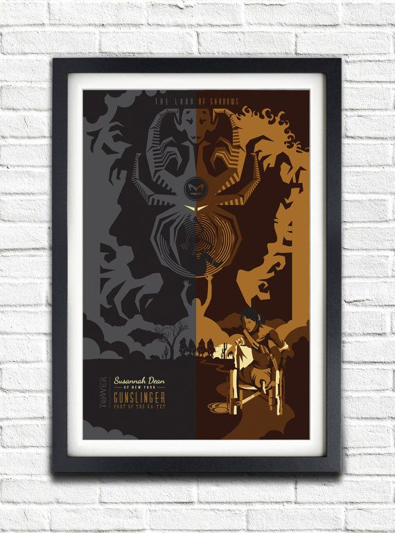 The Dark Tower  Susannah Dean  19x13 Poster by bensmind on Etsy